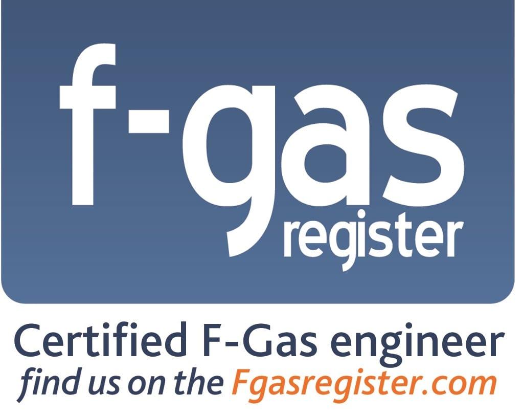 F gas company certification logo UK