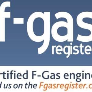 f-gas sticker