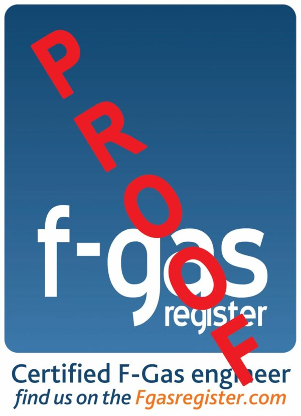 F-GAS sticker 122x122 proof